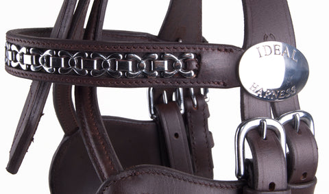 Ideal Luxe Bridle Close Up