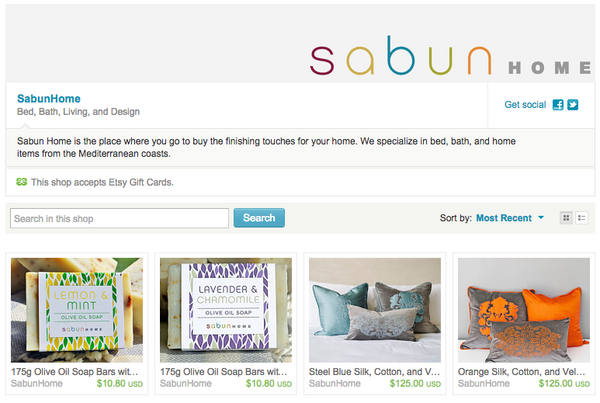 Sabun Home on Etsy