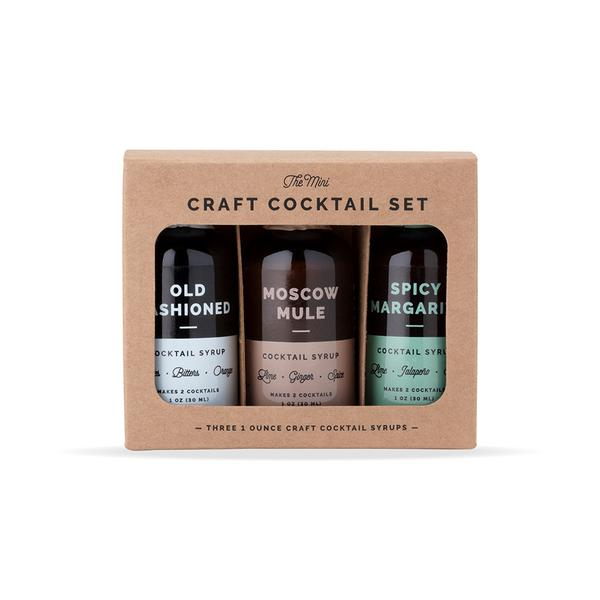 Mini Coctail Syrup 3-Pack Set