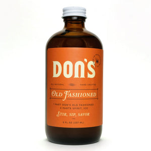 Don's Old Fashioned Cocktail Vinegar