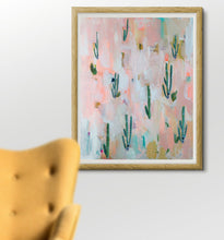 Cactus Collage Gallery Wrapped Canvas Giclee