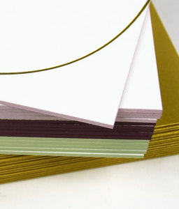 Curve Edge Notecards