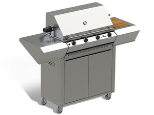 Sizzler Mobile Trolley - 4 Burner