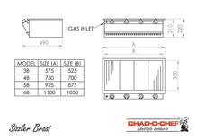 Load image into Gallery viewer, Sizzler Gas Braai - 3 Burner