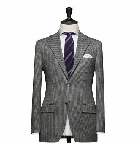"""The Cambridge"" Grey Suit"