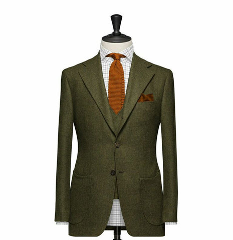 """The Berkshire"" Olive Suit"