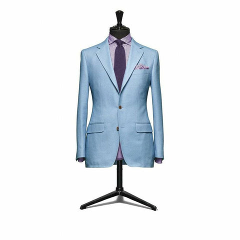 """The Berkshire"" Pale Blue Suit"