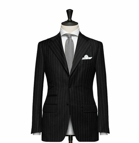 """The Cambridge"" Black Suit"
