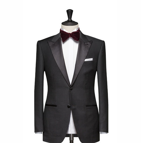 """The Jefferson"" Black Tuxedo"