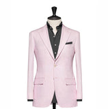 """The Clover"" Solid Pink Blazer"