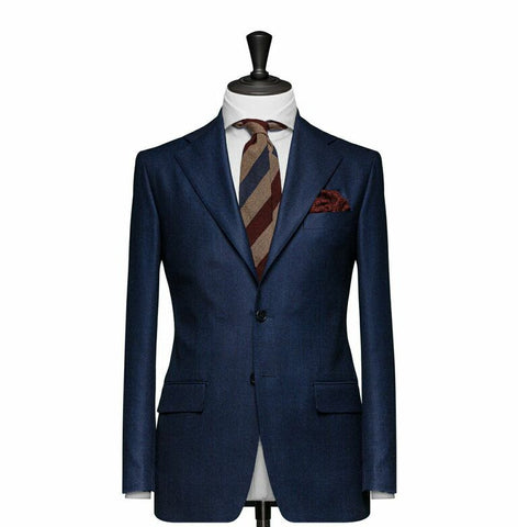 """The Radford"" Solid Navy Blue Blazer"