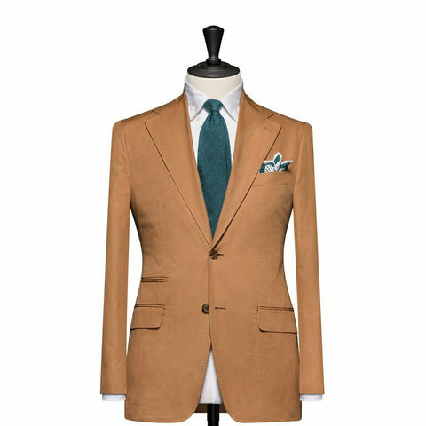 """The Berkshire"" Tan Suit"
