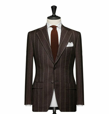 """The Cambridge"" Brown Suit"