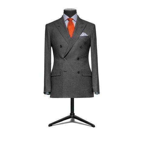 """The Hamilton""Gray Double Breasted Suit"
