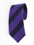 """The Creator"" Purple and Navy Stripe"