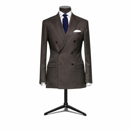 """The Hamilton"" Brown Double Breasted Suit"