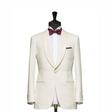 """The Jefferson"" White Tuxedo"