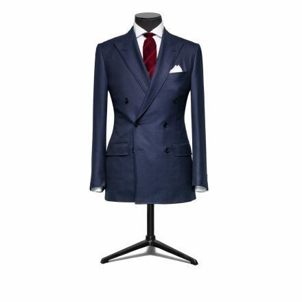 """The Hamilton"" Navy Double Breasted Suit"