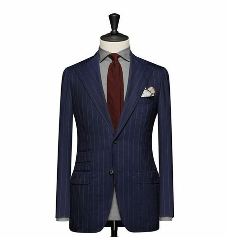 """The Cambridge"" Navy Blue Suit"
