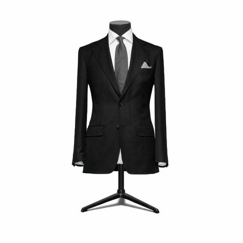 """The Berkshire"" Black Suit"