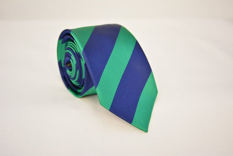 """The Creator"" Green and Blue Stripe"