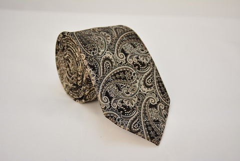 Huntington Black and Tan Necktie