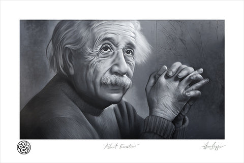Albert Einstein Limited Edition Museum Grade Archival Print