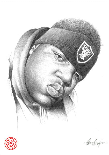 """Biggie Smalls"" Open edition museum grade archival print"