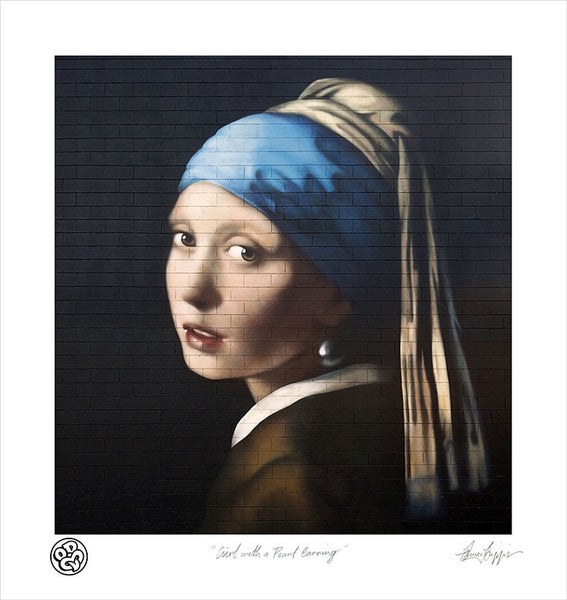 """Girl with a Pearl Earring"" Limited Edition Museum Grade Archival Print"