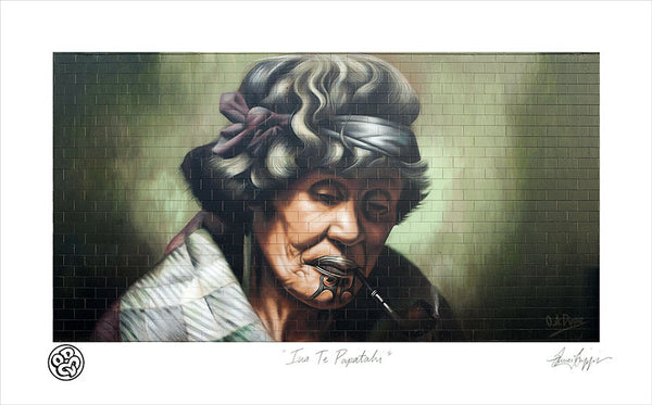 """Ina Te Papatahi""  Limited Edition Museum Grade Archival Print"
