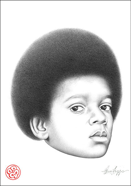 """Baby Mike""Open edition museum grade archival print"