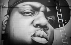 RIP Biggie Smalls, painted on Ashworth Lane New Zealand 2011