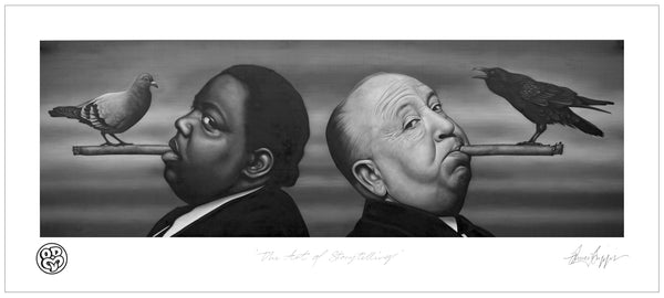 'The Art of Storytelling' Limited Edition Musuem grade archival print