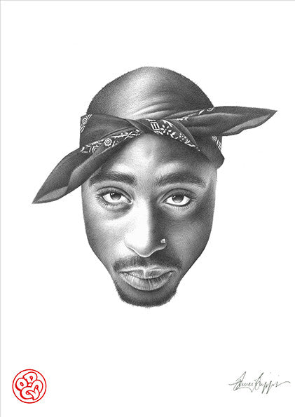 """Tupac"" Open edition museum grade archival print"