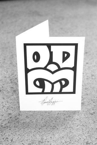 OD BOX TIKI Greeting card