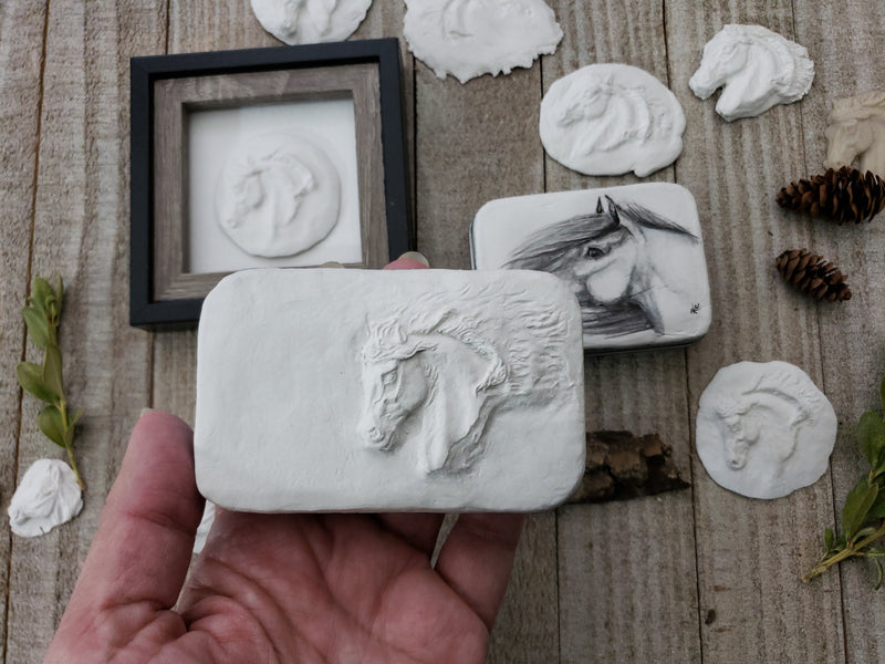 Sculpting and Casting Tiny Art Boxes