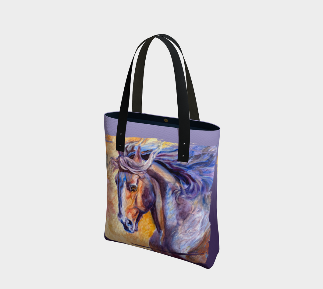Modern Horse Art Tote Bag,