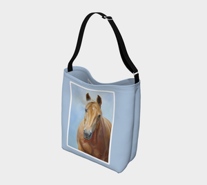 Golden Palomino Horse Art Day Tote Bag