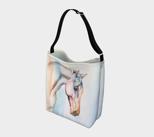 Flair Colourful Horse Art Day Tote Bag