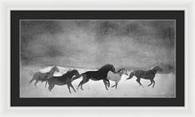 Load image into Gallery viewer, Spirited Horse Herd - Framed Print