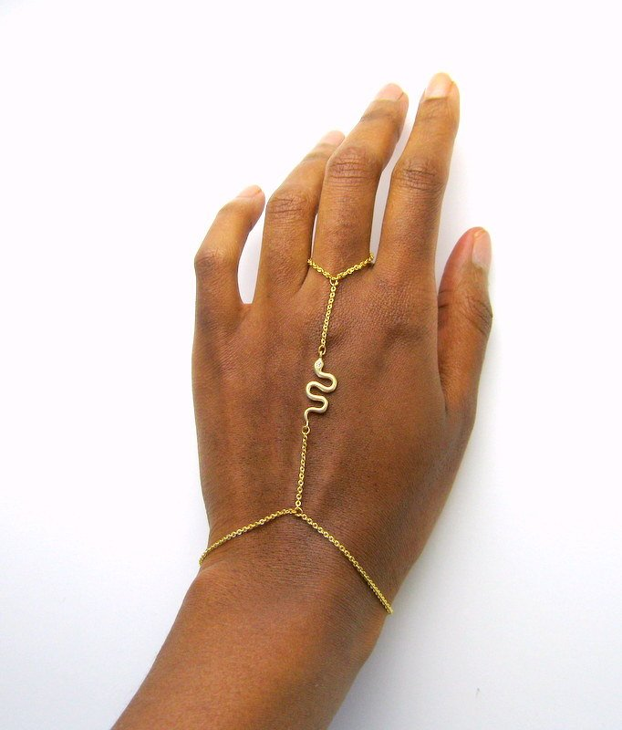 Le Serpent Ring Bracelet