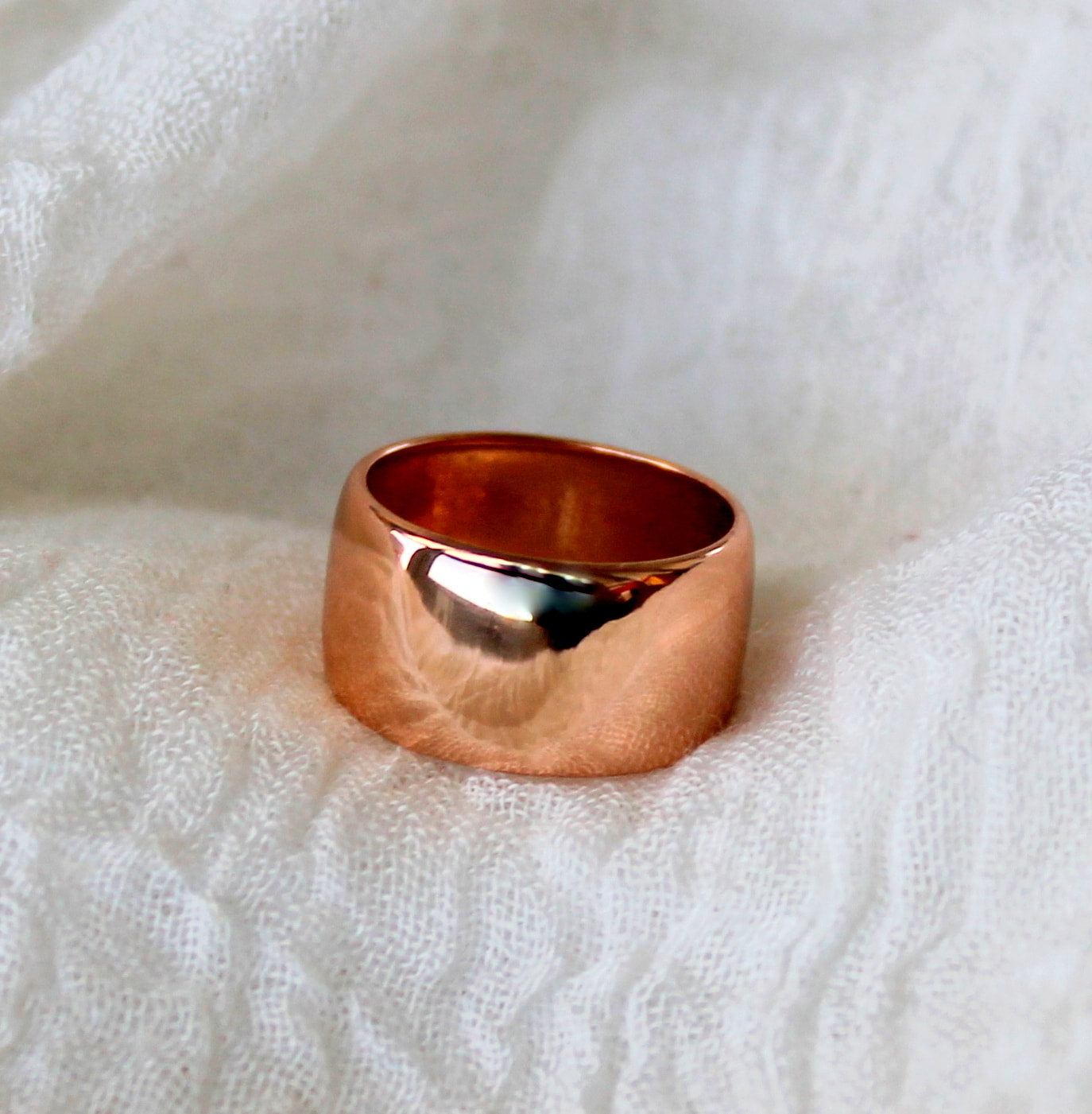 Rose Gold Statement Ring