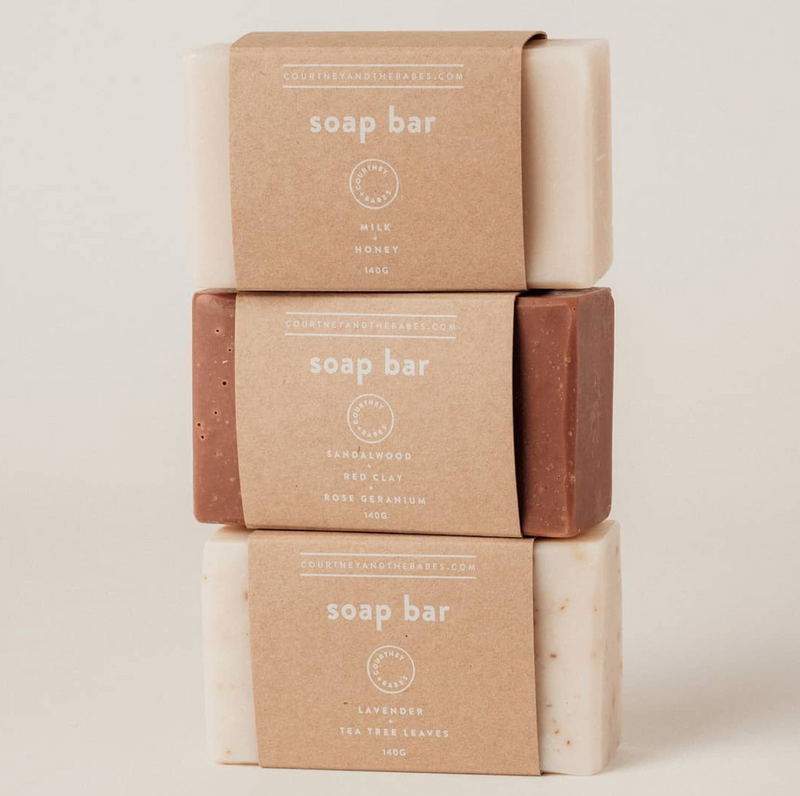 Soap Bar - Milk & Honey