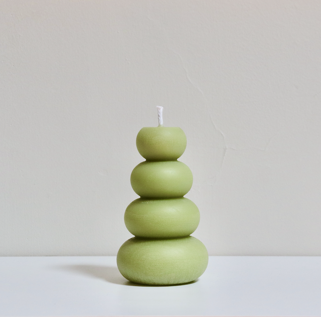 Wonder Pillar Candle - Apple