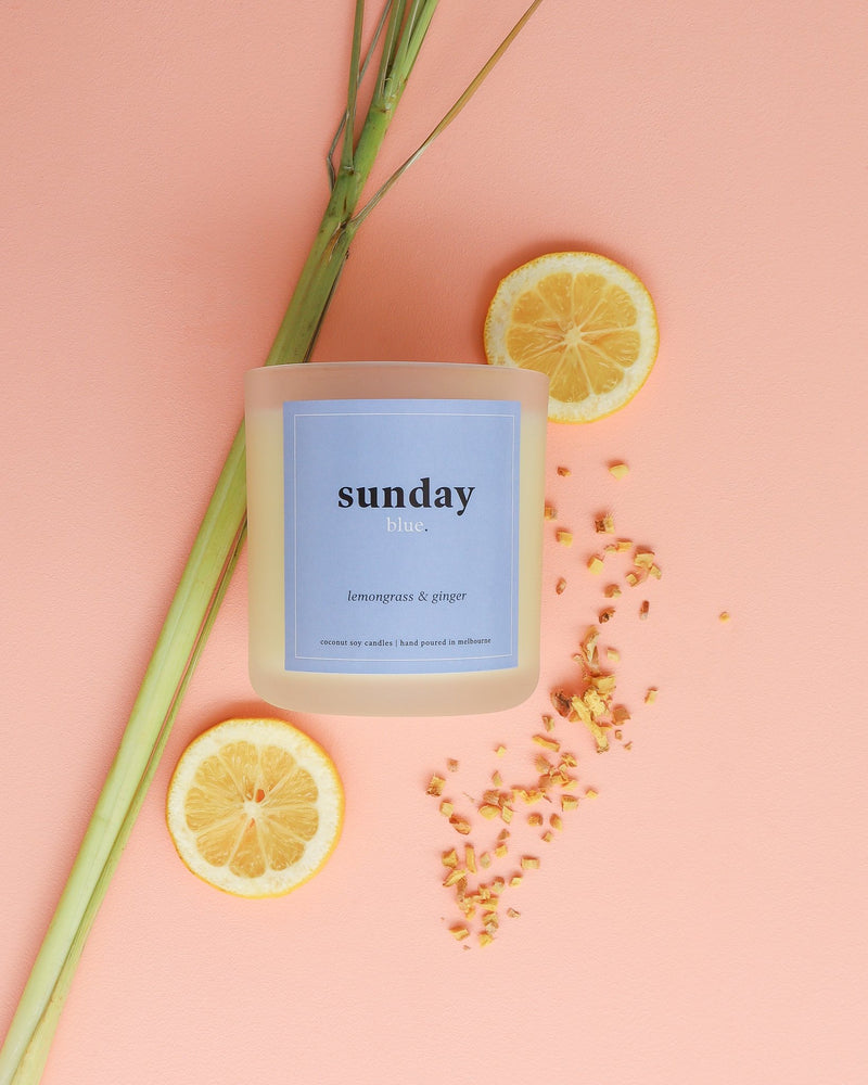 Candle - Lemongrass & Ginger