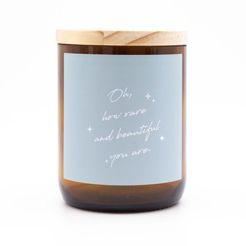 Oh, How Rare And Beautiful You Are Candle