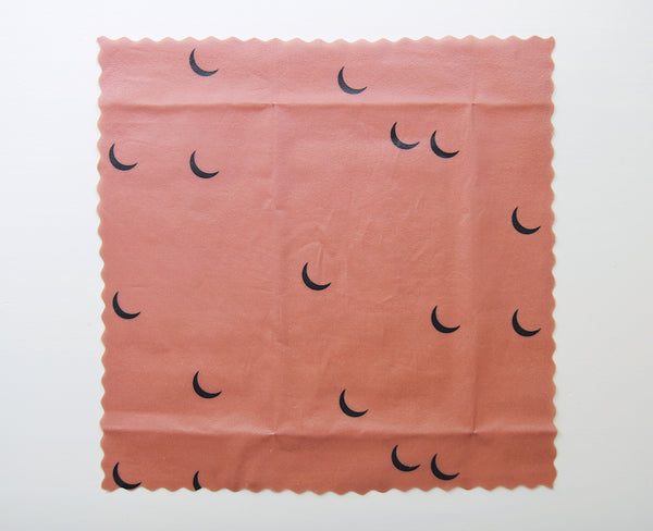 Beeswax Wraps - Terracotta Crescents