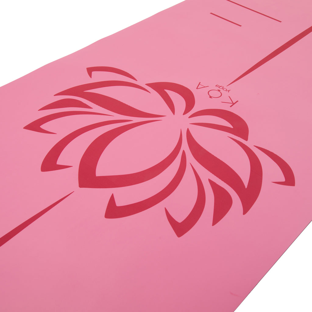 Koa Yoga Mat - Pink Lemonade
