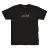 Logotype Black and Gold T-Shirt