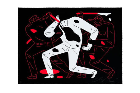 Cleon Peterson 'THE DISAPPEARED' Black